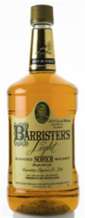 Barrister's Scotch 1.75l